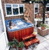 One of the many Hot Tubs avaiulable in our store
